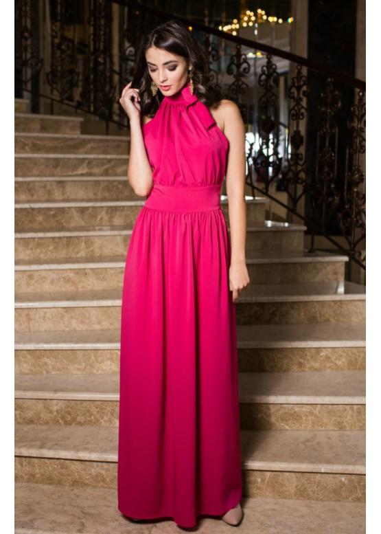 """Платье """"Джиневра"""" малиновый цвет"""