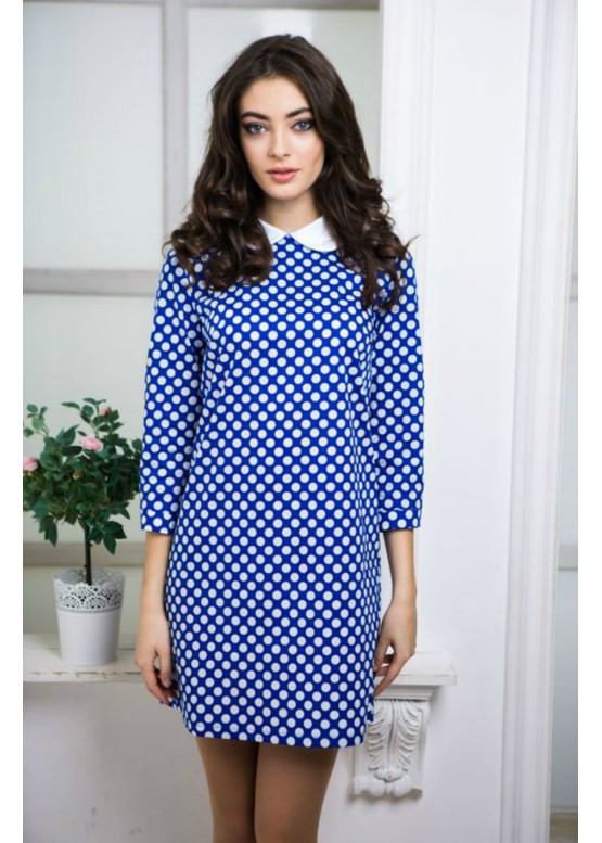 """Платье """"Лола"""" светло-синий цвет"""