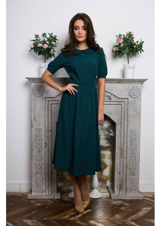 """Платье """"Матрена"""" зеленый цвет"""